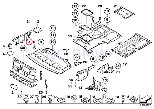 New Genuine BMW 5-Series E39 M47 M52 M54 M57 M62 Engine Front Engine Cover OEM: