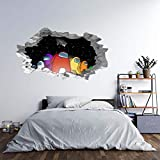 NOA 3D Wall Stickers, DIY Vinyl Decal Home Decor Wall Art Decoration for Living Room Bedroom Hot Game Sticker