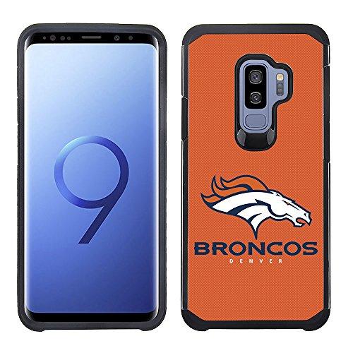 - Prime Brands Group Textured Team Color Cell Phone Case for Samsung Galaxy S9 Plus - NFL Licensed Denver Broncos