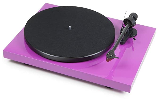 Pro-Ject Debut Carbon (DC) Premium Rosa (Ortofon 2 mred): Amazon ...