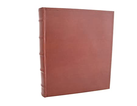 European Leather Photo Album With Archival Acid Free Paper