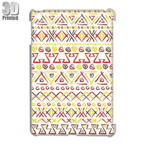 Custom 3D Phone Case Cover for iPad Mini - Ethnic Tribal Indian (Ipad Mini 3 Case Tribal)