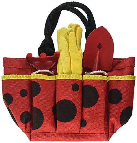 Toysmith 22885 Ladybug Garden Tote