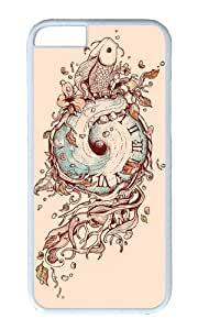 Zheng caseApple Iphone 6 Case,WENJORS Cool A Temporal Existence Hard Case Protective Shell Cell Phone Cover For Apple Iphone 6 (4.7 Inch) - PC White