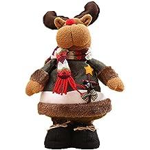 Misaky Christmas Ornaments DIY Christmas Felt Cloth Decorative Dolls Gifts (# C)