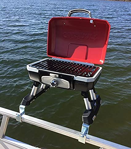 Amazon Com Cuisinart Grill Modified For Pontoon Boat With Arnall S