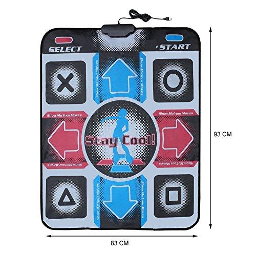 Lovelysunshiny Non-Slip Dancing Step Dance Mat Pad Pads Dancer Blanket to PC with USB by Lovelysunshiny (Image #5)