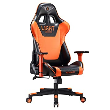 Amazon.com: Internet Cafe Esports Chair Computer Office Chair ...