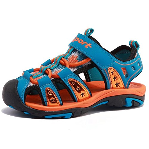 (Boys' Summer Outdoor Beach Sports Closed-Toe Sandals(Toddler/Little Kid/Big Kid))