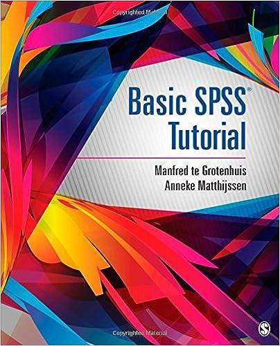 Ebook pdf). Statistics. Spss. Tutorial | spss | regression analysis.