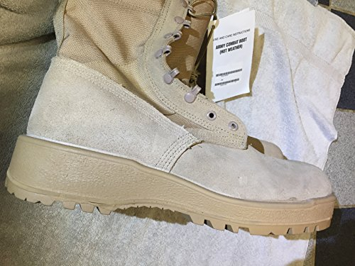 Altama Combat Boots US Army Military Tan Desert Hot Weather Combat Boot Size -