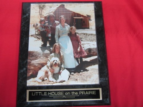 TV Show LITTLE HOUSE on the PRAIRIE Collector Plaque w/8x10 Color Cast Photo