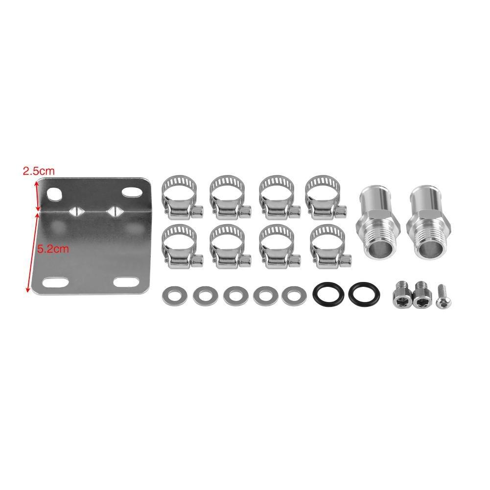 Kit de recuperaci/ón de aceite universal de aluminio para coche SOULONG