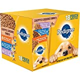 #5: PEDIGREE Pouches 18 Flavor Dog Food Variety Pack (Chopped Ground Dinner)