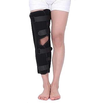"""4fef5a4a3d Knee Immobilizer Splint Leg Brace│Tri-Panel 21"""" Straight Leg  Immobilizer Stabilizer Adjustable"""