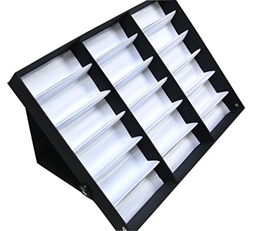 Eyewear Storage Tray Display Case - 18 Slots Eyeglasses ...