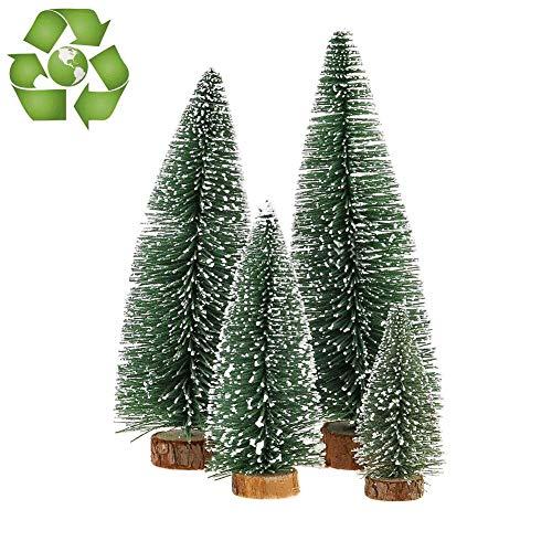 Desktop Miniature Pine Tree tabletop christmas tree small pine tree decor christmas tree toppers … - Christmas Table Top Tree