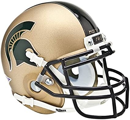 Schutt NCAA Michigan State Spartans Mini Authentic XP Football Helmet
