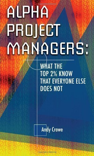 Alpha Project Managers: What the Top 2% Know That Everyone Else Does Not by Crowe, Andy (2006) Hardcover