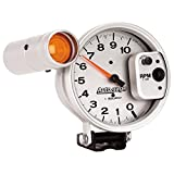 Auto Meter 233911 Autogage Silver Tachometer