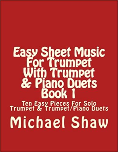 Amazoncom Easy Sheet Music For Trumpet With Trumpet Piano Duets