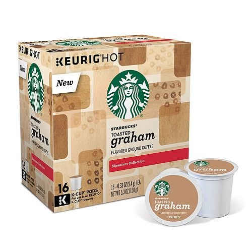 Starbucks Toasted Graham Coffee K-Cup Pod (16 Quantify)