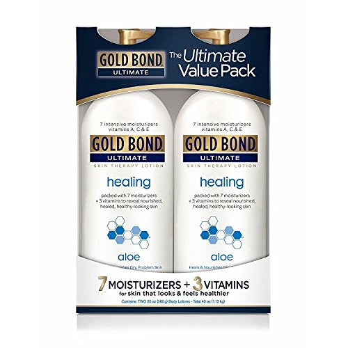 Gold Bond Ultimate Healing Skin Therapy Lotion with Aloe, 2 pk./20 (Ultimate Healing Aloe)