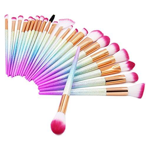 pink brush set - 9