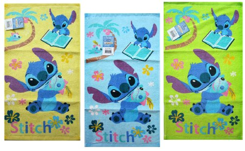 Lilo and Stitch Hand Towels (Assorted 3 Piece Set) - Assorted Lilo and Stitch Dish Towels