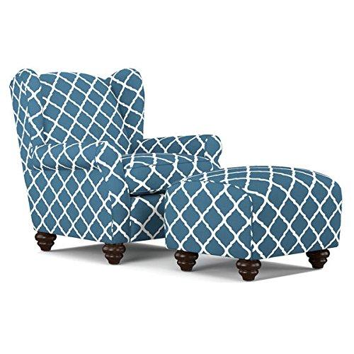 portfolio-hana-navy-blue-trellis-wingback-chair-and-ottoman-set