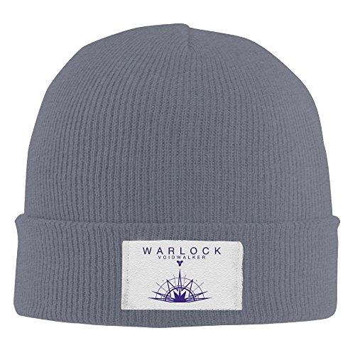 Custom Cool Jewelry (Amone Destiny Plan Warloce Winter Knitting Wool Warm Hat Asphalt)