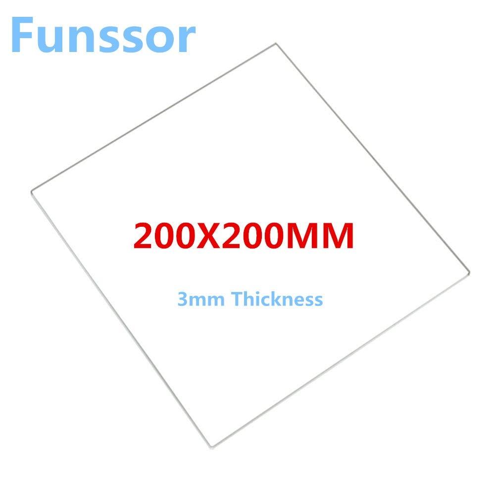 HEASEN - Placa de cristal de borosilicato para impresora 3D ...