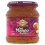 Patak's Hot Mango Chutney (340g) - Pack of 2