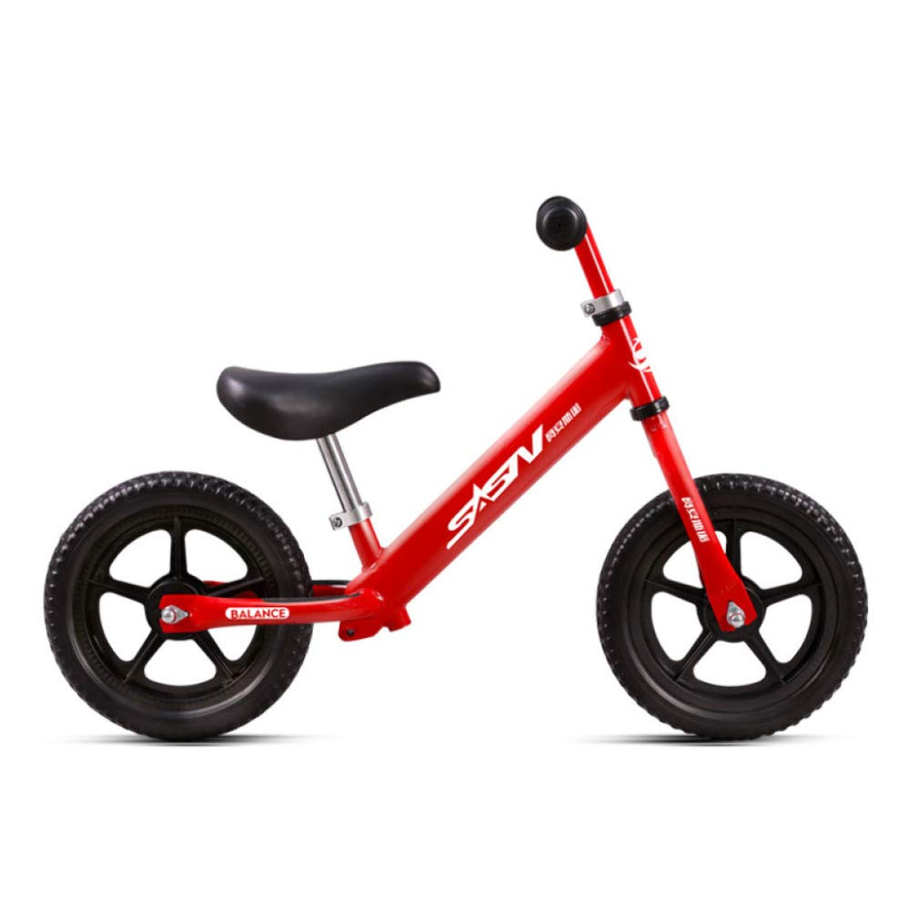 Balance Bicicleta para Niños First Training Ligero De Acero con Alto Contenido De Carbono 12