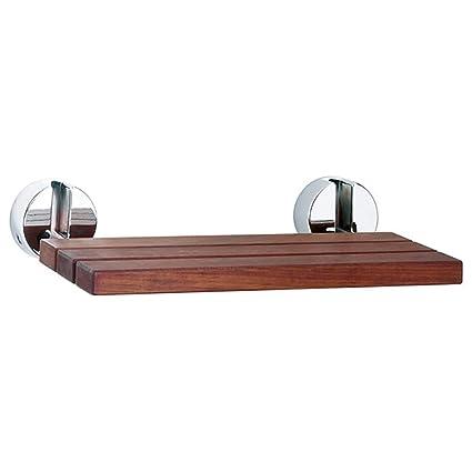 Silla plegable plegable de madera del asiento de la ducha ...