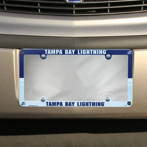 Wincraft Tampa Bay Lightning Plastic License Plate Frame