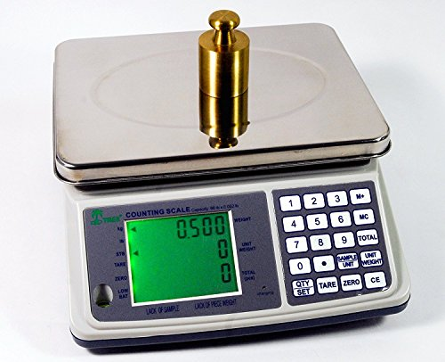 16lb x 0.0005lb Digital Parts Counting Scale Plus – Mid Counting Scale with Check-weighing Function – Inventory Scale – Coin Counting Scale