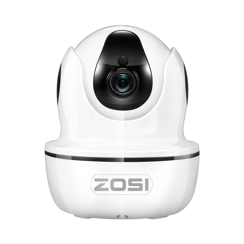 ZOSI IP Dome Camera 2MP 1080p HD Pan/Tilt/Zoom Wireless Wifi Security Surveillance System,Two-Way Audio,Unique IR Remote Control for Appliances, Night Vision Baby/Nanny/Pet Monitor