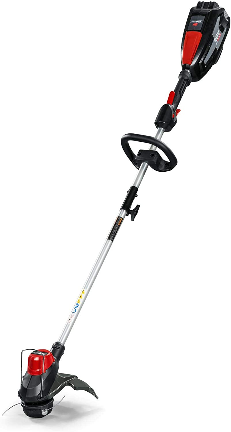 Snapper HD 48V MAX Electric Cordless String Trimmer Kit with 2.0 Battery and Charger, 1687970, ST48K