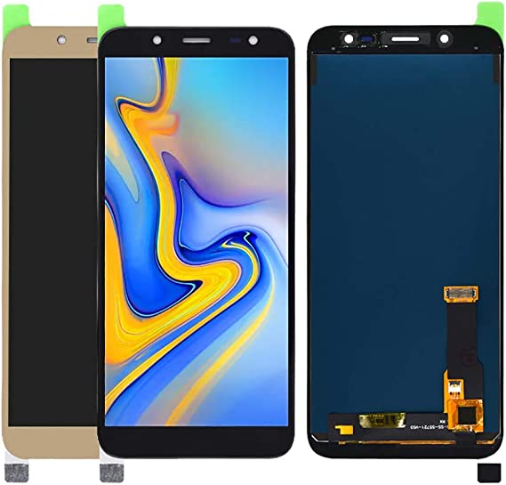 On6 Material J600G//DS Black NA Replacement LCD Display +Touch Screen for Galaxy LCD Screen and Digitizer Full Assembly Color : Gold FURUMO 2018 for Galaxy J6 J600F//DS