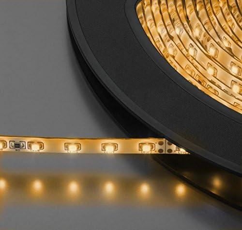 TIRA DE LEDS FLEXIBLE 24 V MONACOR LEDS-10MP/WWS: Amazon.es ...