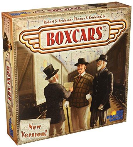 Boxcars Board covid 19 (Rails Board Game coronavirus)