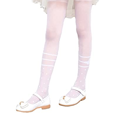 71ca96506084e Forpend 子供ドレス タイツ 子供フォーマル 女の子 ストッキング キッズフォーマルタイツ (ホワイト