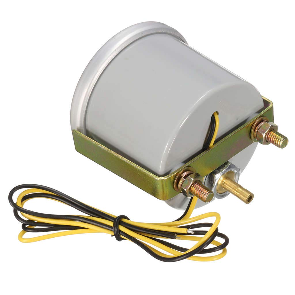 Cikuso Auto Automatisch 2 Zoll 52 Mm Universal Led Digital Rauch Licht 12 V Boost Rod Mess Geraet