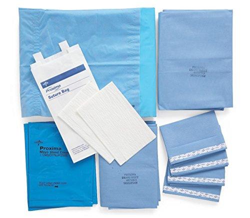 Medline DYNJP1000 Sterile Basic Surgical Pack I, Eclipse (Pack of 10)