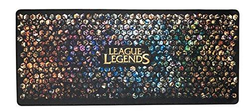 Extra Large League of Legends LoL Super Mouse Pad - 27.5''x11.8''x0.11'' Dimension