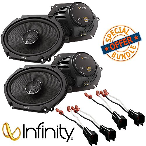 (2Pairs) Infinity KAPPA 682.11cf Peak Power Handling 300w 6