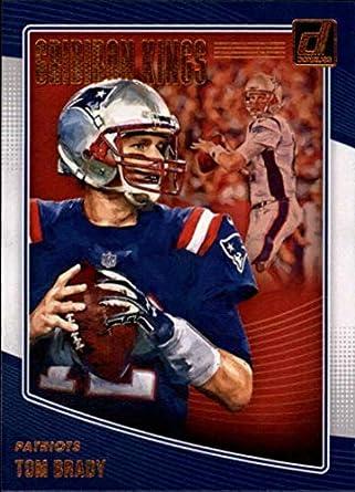 255ba62f719 2018 Donruss Gridiron Kings #1 Tom Brady Patriots NFL Football Trading Card