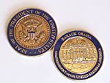 US 44th President Barak Obama, White House Challenge Coin by Global Intelligence shop