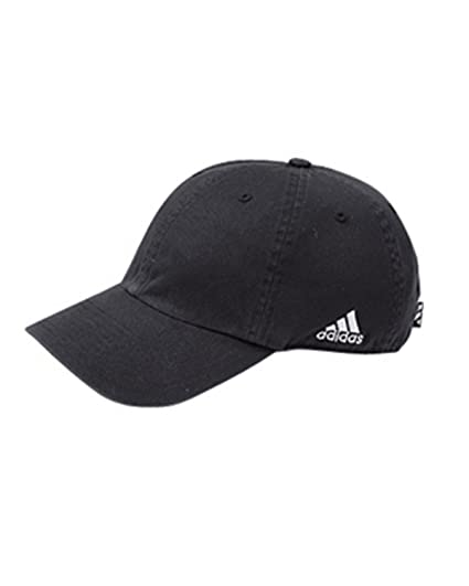 35a62339c0a Amazon.com  Adidas Golf A12 Relaxed Cresting Cap - Black - One Size ...